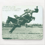 Famous Bucking Bronc Five Minutes Mouse Pad