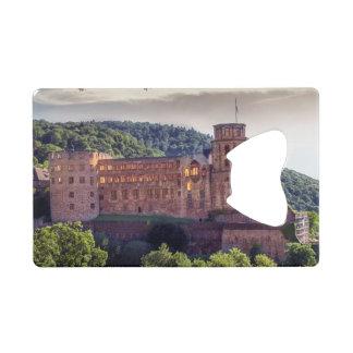 Famous castle ruins, Heidelberg, Germany
