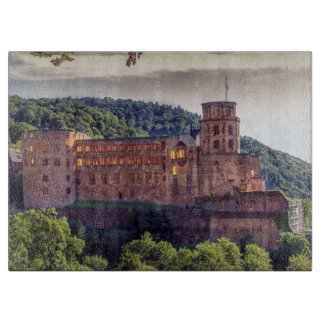 Famous castle ruins, Heidelberg, Germany Cutting Board