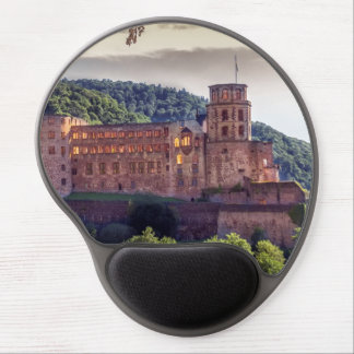 Famous castle ruins, Heidelberg, Germany Gel Mouse Pad