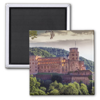 Famous castle ruins, Heidelberg, Germany Magnet