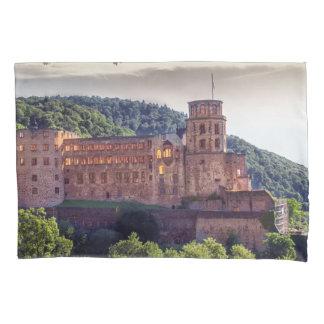 Famous castle ruins, Heidelberg, Germany Pillowcase