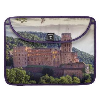 Famous castle ruins, Heidelberg, Germany Sleeve For MacBooks