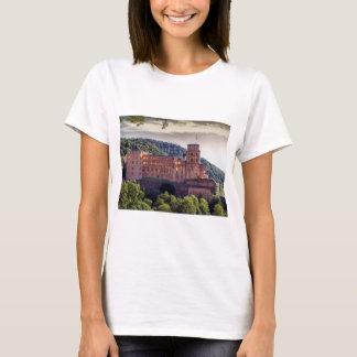 Famous castle ruins, Heidelberg, Germany T-Shirt