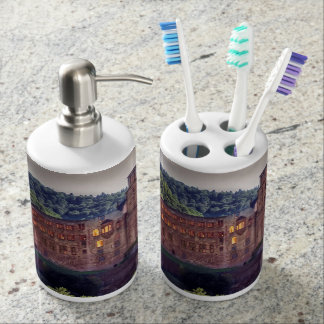 Famous castle ruins, Heidelberg, Germany Toothbrush Holders