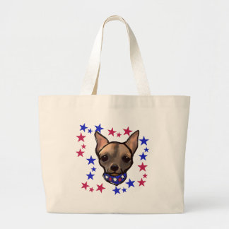 FAMOUS CLIFF 4TH OF JULY LARGE TOTE BAG