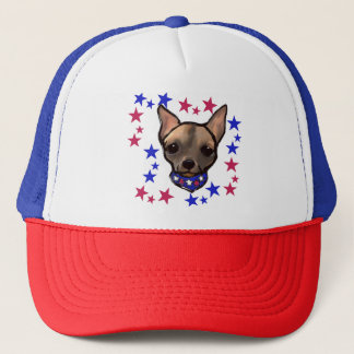 FAMOUS CLIFF 4TH OF JULY TRUCKER HAT