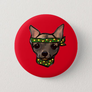 FAMOUS CLIFF BANDIT 6 CM ROUND BADGE