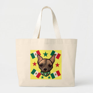 FAMOUS CLIFF CINCO DE MAYO LARGE TOTE BAG