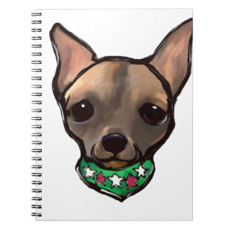 FAMOUS CLIFF CINCO DE MAYO SPIRAL NOTEBOOK