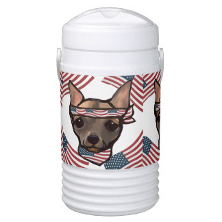 FAMOUS CLIFF PATRIOT IGLOO COOLER