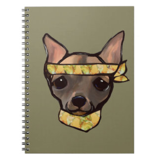 FAMOUS CLIFF- SOLDIER SPIRAL NOTEBOOK
