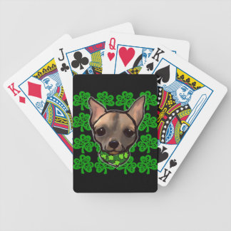 FAMOUS CLIFF - ST. PATTY BICYCLE PLAYING CARDS