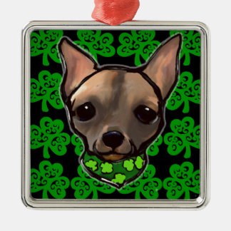 FAMOUS CLIFF - ST. PATTY METAL ORNAMENT