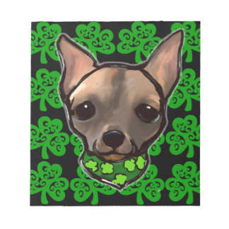 FAMOUS CLIFF - ST. PATTY NOTEPAD
