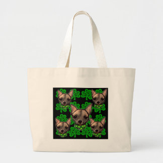 FAMOUS CLIFF ST PATTYS DAY 2 LARGE TOTE BAG
