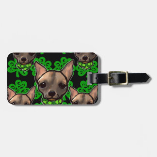 FAMOUS CLIFF ST PATTYS DAY 2 LUGGAGE TAG