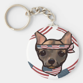 FAMOUS CLIFF USA KEY RING