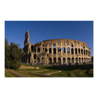 Famous Colosseum in Rome Italy Landmark 2 Photographic Print