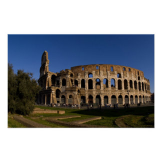 Famous Colosseum in Rome Italy Landmark 2 Posters