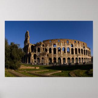 Famous Colosseum in Rome Italy Landmark 2 Poster