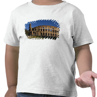 Famous Colosseum in Rome Italy Landmark 2 Shirts