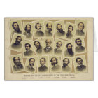Famous Confederate Commanders of the Civil War Card
