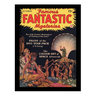 Famous Fantastic Mysteries v03n04 1941-10_Pulp Art Postcard