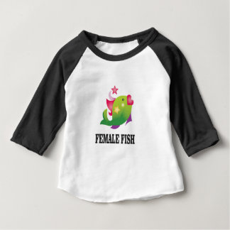 famous female fish baby T-Shirt