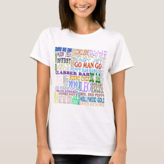 Famous Foundation Quarter Horse Names T-Shirt