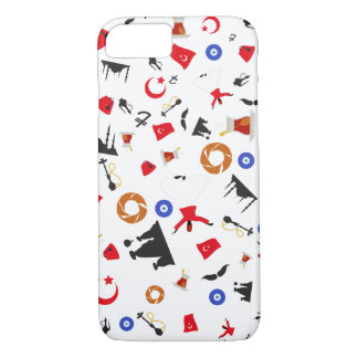 Famous Icons of Turkey iPhone 7 Case