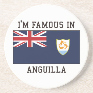 Famous In Anguilla Coaster