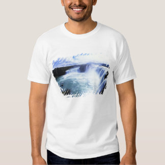 Famous Jodafoss Falls in North Central Iceland T Shirts