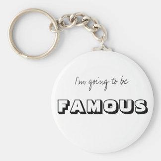 FAMOUS KEY RING