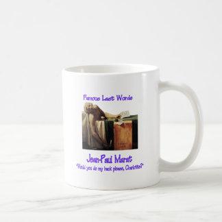 Famous Last Words Marat Mug