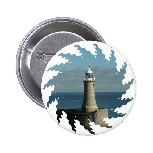 Famous Lighthouse Button