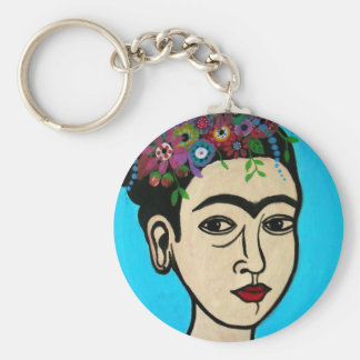 Famous Mexican Artist Keychain