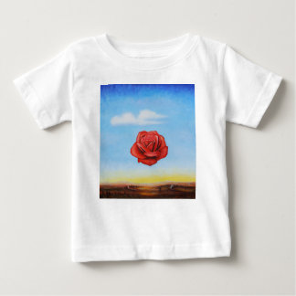famous paint surrealist rose from spain baby T-Shirt
