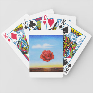 famous paint surrealist rose from spain bicycle playing cards