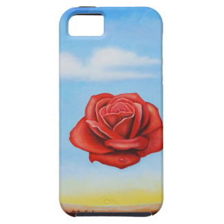 famous paint surrealist rose from spain iPhone 5 cases