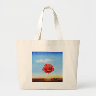 famous paint surrealist rose from spain large tote bag