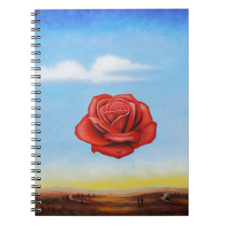 famous paint surrealist rose from spain notebooks