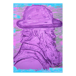 famous painter art pack of chubby business cards