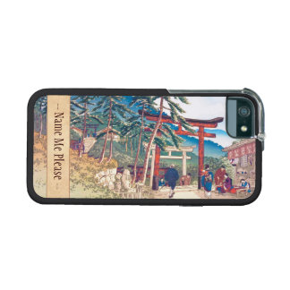 Famous Places of Kyoto - Fushimi Inari scenery iPhone 5 Cover