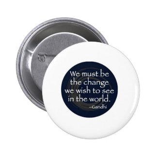 famous quotes 6 cm round badge