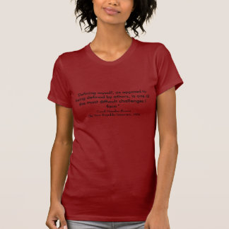 Famous Quotes-Black History T-Shirt