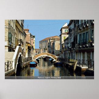 Famous region, Venice, Italy Print