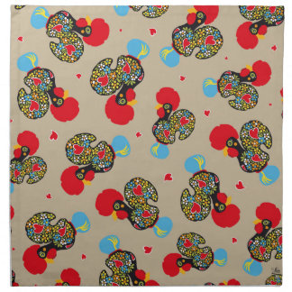 Famous Rooster of Barcelos Nr 06 Pattern Napkin