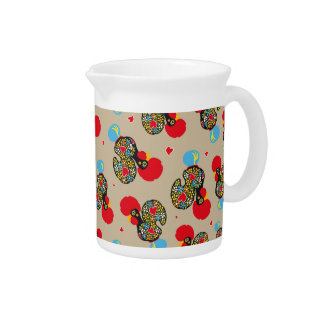 Famous Rooster of Barcelos Nr 06 Pattern Pitcher