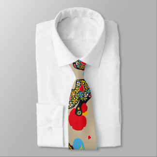Famous Rooster of Barcelos Nr 06 Pattern Tie